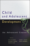 Child and Adolescent Development: An Advanced Course (0470176571) cover image