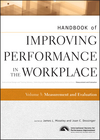 Handbook of Improving Performance in the Workplace, Volume 3, Measurement and Evaluation (0470190671) cover image