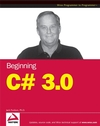 Beginning C# 3.0: An Introduction to Object Oriented Programming (0470384271) cover image