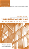 Simplified Engineering for Architects and Builders, 11th Edition (0470436271) cover image