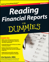 Reading Financial Reports For Dummies, 2nd Edition (0470466871) cover image