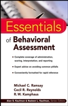 Essentials of Behavioral Assessment (0471353671) cover image