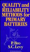 Quality and Reliability Methods for Primary Batteries (0471524271) cover image