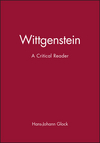 Wittgenstein: A Critical Reader (0631194371) cover image