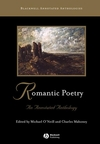 Romantic Poetry: An Annotated Anthology (0631213171) cover image