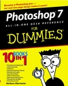 Photoshop 7 All-in-One Desk Reference For Dummies  (0764516671) cover image