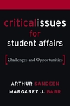 Critical Issues for Student Affairs: Challenges and Opportunities (0787976571) cover image
