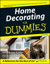 Home Decorating For Dummies, 2nd Edition (1118068971) cover image