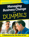 Managing Business Change For Dummies (1118069471) cover image