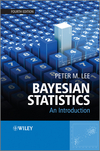 thumbnail image: Bayesian Statistics: An Introduction, 4th Edition