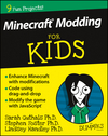 Minecraft Modding For Kids For Dummies (1119057671) cover image