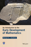 thumbnail image: An Introduction to the Early Development of Mathematics