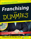 Franchising For Dummies, 2nd Edition (0470109572) cover image