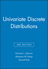 Univariate Discrete Distributions, 3e Set (0470383372) cover image