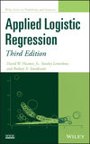 thumbnail image: Applied Logistic Regression, 3rd Edition