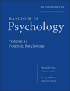 Handbook of Psychology, Volume 11, Forensic Psychology, 2nd Edition (0470639172) cover image