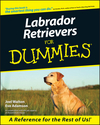 Labrador Retrievers For Dummies (1118053672) cover image