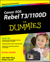Canon EOS Rebel T3/1100D For Dummies (1118094972) cover image