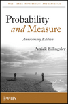 thumbnail image: Probability and Measure, Anniversary Edition