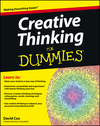 Creative Thinking For Dummies (1118381572) cover image