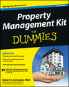 Property Management Kit For Dummies, 3rd Edition (1118443772) cover image