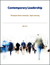 (WCS CAN) Thompson Rivers University - Open Learning: Contemporary Leadership (1118502272) cover image