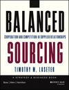 Balanced Sourcing: Cooperation and Competition in Supplier Relationships (1118694872) cover image