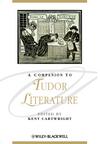 A Companion to Tudor Literature (1405154772) cover image