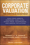 Corporate Valuation for Portfolio Investment: Analyzing Assets, Earnings, Cash Flow, Stock Price, Governance, and Special Situations (1576603172) cover image