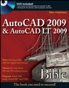AutoCAD 2009 and AutoCAD LT 2009 Bible (0470260173) cover image