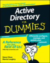 Active Directory For Dummies, 2nd Edition (0470505273) cover image