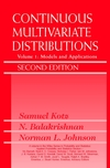 Continuous Multivariate Distributions, Volume 1: Models and Applications, 2nd Edition (0471183873) cover image