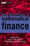 New Directions in Mathematical Finance (0471498173) cover image