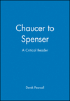 Chaucer to Spenser: A Critical Reader (0631199373) cover image