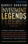 Investment Legends: The Wisdom that Leads to Wealth (0731408373) cover image