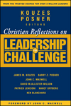 Christian Reflections on The Leadership Challenge (0787983373) cover image