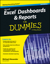 Excel Dashboards and Reports for Dummies, 3rd Edition (1119076773) cover image