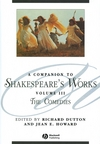 A Companion to Shakespeare's Works, Volume III: The Comedies (1405136073) cover image