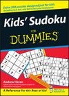 Kids' Sudoku For Dummies (0470124474) cover image