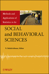 thumbnail image: Methods and Applications of Statistics in the Social and Behavioral Sciences
