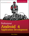 Professional Android 4 Application Development (1118102274) cover image