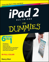 iPad 2 All-in-One For Dummies, 3rd Edition (1118176774) cover image