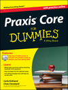 Praxis Core For Dummies, with Online Practice Tests  (1118612574) cover image