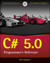C# 5.0 Programmer's Reference (1118846974) cover image