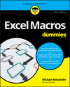 Excel Macros For Dummies, 2nd Edition (1119369274) cover image