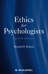 thumbnail image: Ethics for Psychologists 2nd Edition