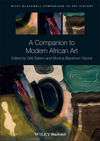 A Companion to Modern African Art (1444338374) cover image