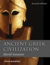 Ancient Greek Civilization, 2nd Edition (1444358774) cover image