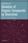 Oxidation of Organic Compounds by Dioxiranes (0470454075) cover image