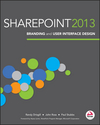 SharePoint 2013 Branding and User Interface Design (1118495675) cover image